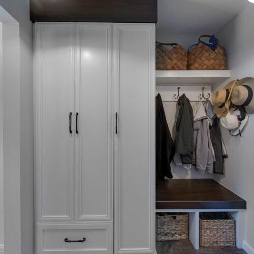 Closet/Mud Room Cabinetry
